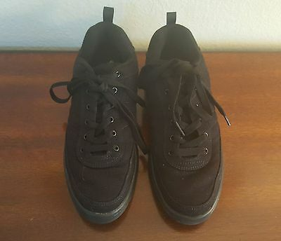 Womens Dance Now Black Cavas Zumba Hip Hop Dance Shoes Size 9, With original box