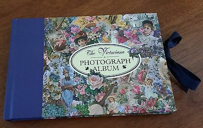 Montague House The Victoriana PHOTOGRAPH ALBUM 12 pages EMPTY holds 16 photos