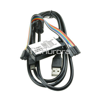 USB Logic Analyzer Device Set USB Cable 8 Channel 24MHz 24MHz  for ARM FPGA M100