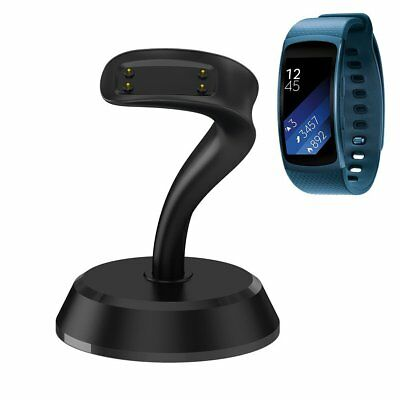 Gear Fit 2 Charger, GOOQ Portable Charging Stand Micro USB Port Charger Cradle 2