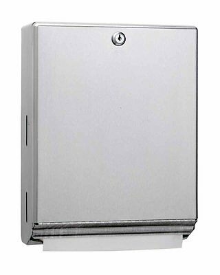 """""""New"""" Classic Series® Surface-Mounted Paper Towel Dsipenser - Stainless Steel"""