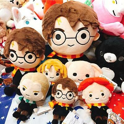 """HOT Harry Potter Hermione Draco Dobby Hedwig Ron Soft Cute Beans 4.5"""" Toy Gifts"""