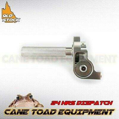 Cnc Throttle 1/4 Quick Turn Twist Housing Grip Pit Pro Trail Dirt Silver