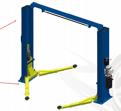 AUTO LIFT two post lift capacity 4000kg