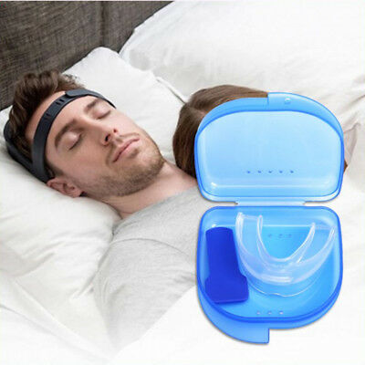 Anti Snore Stop Snoring Tray Stopper Sleep Aid Mouth Mouthpiece Soft Mouth Guard