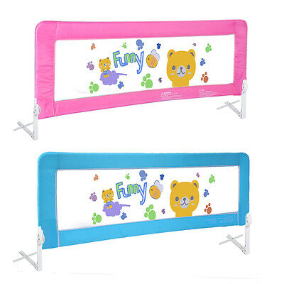 Baby Bed Rail Children Extra Long Bed Guard Toddler Safety Protector Fold Down