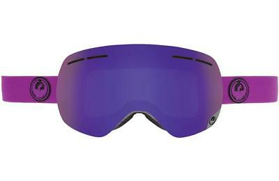 Dragon X1s Frameless Snow Goggles Violet - Purple Ion + Yellow/Red Ion Lens