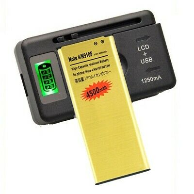 4500mAh High-Capacity Battery Universal Charger for Samsung Galaxy Note 4 N910A