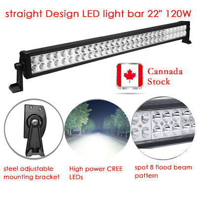 24inch 120W COMBO LED Light Bar Off-road Driving Lamp SUV Boat 4WD ATV Truck 22