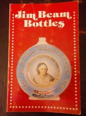 Jim BEAM BOTTLES 1976 Identification Price Guide BOOK Al Cembura Constance Avery