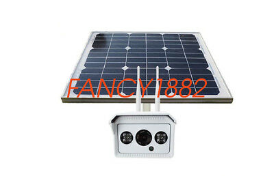 NEW Solar Power SIM Card Wireless WiFi Camera 1280*720HD Night Support 4G