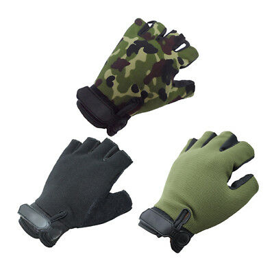 Cycling Bicycle Half Finger Antiskid Ridding Gloves MTB Bike Sports Hand Protect