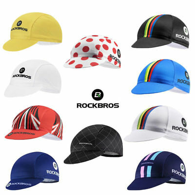 ROCKBROS World Champion Pro Team Cycling Cap Hat Sunhat Suncap Helmet Caps