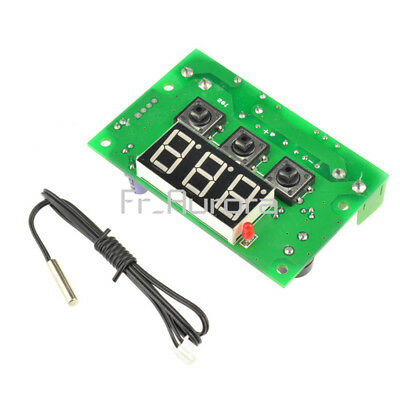 -50-110°C Temperature Controller Control Switch DC12V Thermostat Relay Sensor