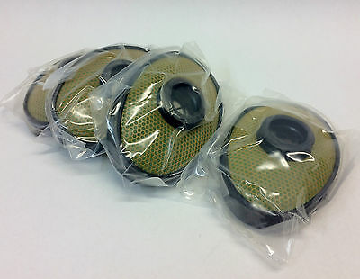 4pcs 2 pairs soviet russian gas mask PBF EO-19 filters parts