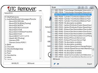 2017 DTC Remover 1.8.5.0 Elimination Clear Remove DTC errors from ECU