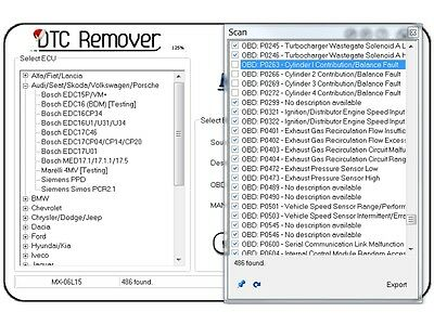 2019 DTC Remover 1.8.5.0 Elimination Clear Remove DTC errors from ECU