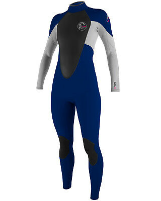 O'Neill Bahia Ladies 3/2mm Wetsuit  in Colbalt & Lunar (2015) - On Sale!