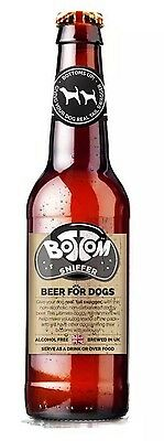 Woof & Brew Bottom Sniffer Herbal Infusion Alcohol Free Beer For Dogs 330ml