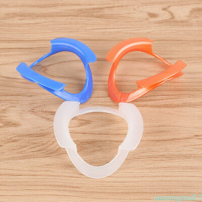 10pcs Dental Intraoral Teeth Whitening Cheek Lip Retractor Mouth Opener O-Shape