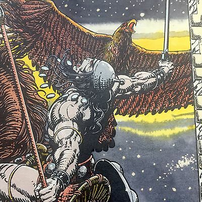 Barry Windsor Smith-- 1974 CONAN  HANDCOLORED PRINT SET -THE FOUR AGES of CONAN