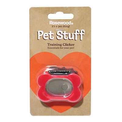 New - Rosewood Pet Stuff Dog Training Clicker Obedience Tool