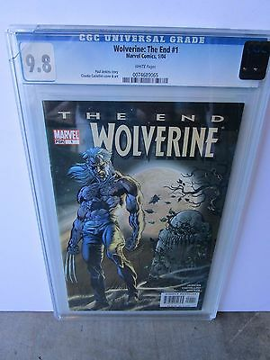 "Marvel's Wolverine ""the End"" Graded By Cgc At 9.8"