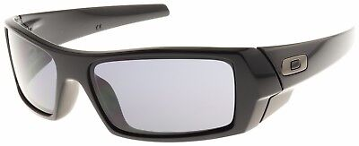 Oakley Gascan Sunglasses 03-471 Polished Black Frame | Grey Lenses | BNIB |