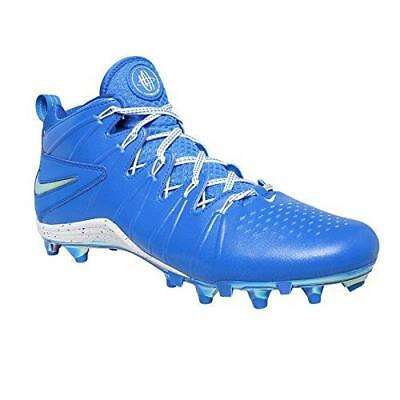 Nike Huarache 4 LAX LE Td Lacrosse Football Cleats Men's Sz 10.5 Photo Blue