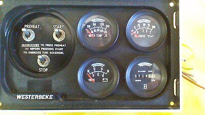 Westerbeke Engine Control Panel Unit