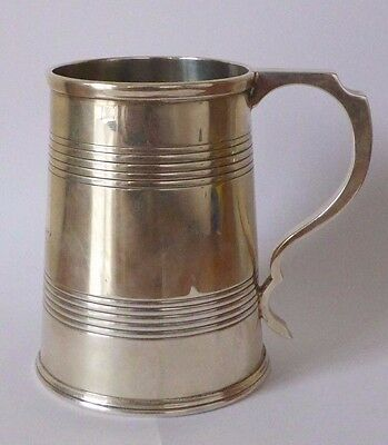 Lovely Quality Mappin & Webb Sterling Silver Tankard Hallmarked