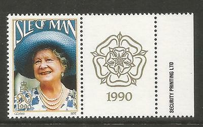 Isle of Man 1990 Queen Mother 90th Birthday--Attractive Topical (425) MNH