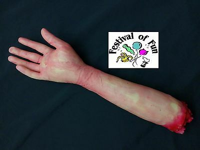 Severed Arm ~ Bloody Realistic Horror Halloween Prop ~ Life Size ~ Freaky! NEW