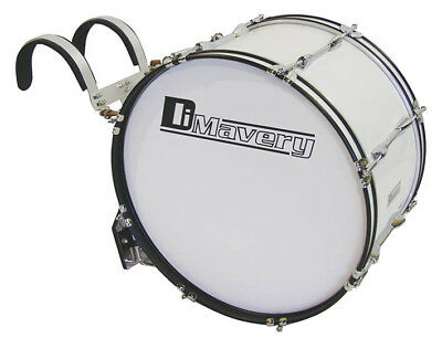 Marching Bass Drum, 24 inches x 12 inches - Dimavery MB-424