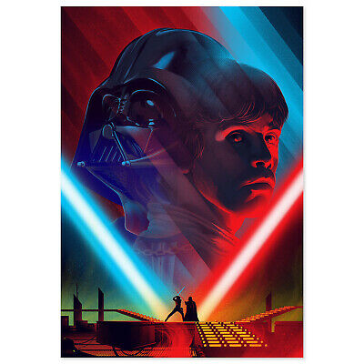 Star War Poster - Luke vs Darth Vader - High Quality Prints
