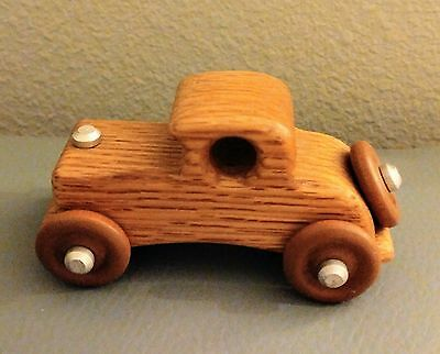 Antique/Vintage handmade Wooden Car Toy