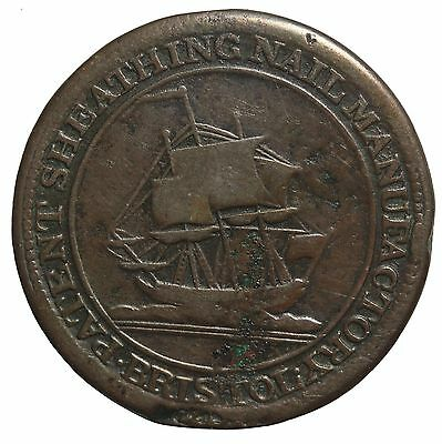 1811 Great Britain Bristol Halfpenny Conder Token Withers-472