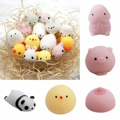 Squishy Slow Rising Stress Relief Toys Cute Soft Animal Squeeze Stretch Compress