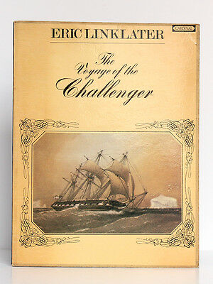 The Voyage of the Challenger, Eric LINKLATER. Cardinal, 1974. Dessins et photos.