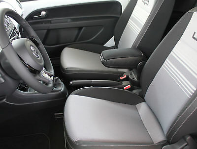 Vw Up! (2011-2018) Centre Console Armrest Black New - Free Postage