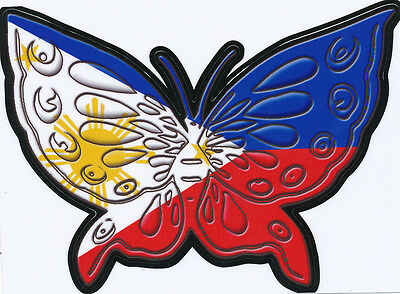 gloss laminated GAY BUTTERFLY 2014 STYLE Decal size apr.90 mm h.by 90mm w