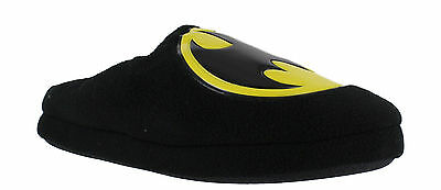 Official Mens Batman DC Mule Slip On Ankle Boots Slippers