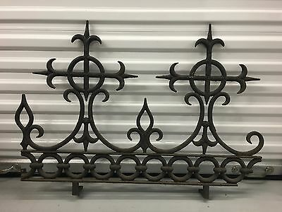 Antique Gothic Cast Iron Fretwork -- Early 19th Century
