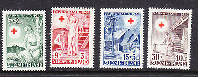 Finland Red Cross 1949 set 471/4  Mint Never Hinged