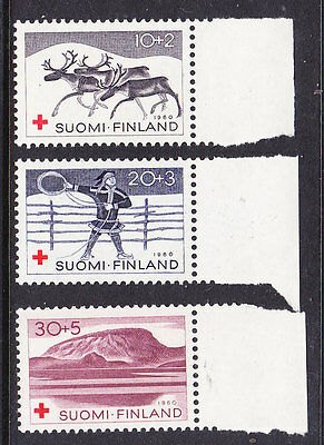 Finland Red Cross 1960 set 621/23 Mint Never Hinged