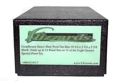 Heavy Duty 10 x 6 13//16 x 3 5//8 Mint Set Storage Box by Guardhouse-Black U.S