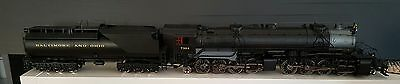 Aristocraft 2-8-8-2 Mallet in B&O livery with MyLoco Sound
