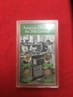 American Dimes Of The 20th Century Coin Set