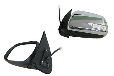 Chrome Electric Door Mirror Flasher Toyota Hilux Sr5 7/11-9/15 - Passenger Side