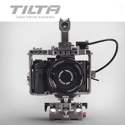 Tilta ES-T17 A7 Rig A7S2 A7R A7R2 Rig Cage Baseplate Top Handle For SONY A7